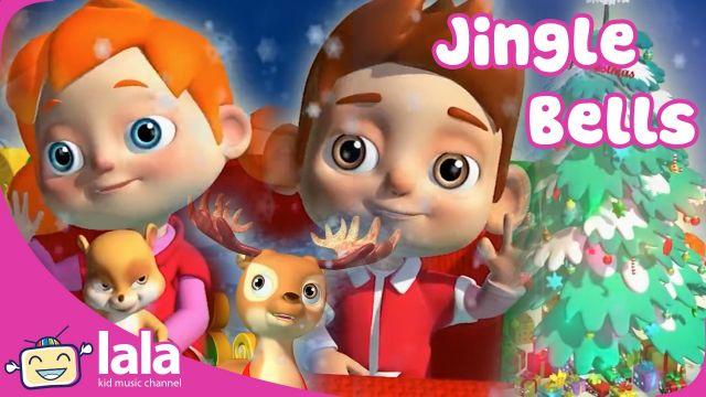 Music cartoon kid - Jingle Bells